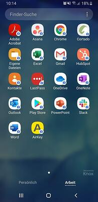 Android One UI Work