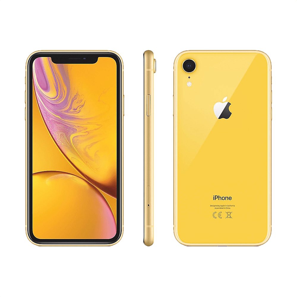 iPhone XR 2018 yellow